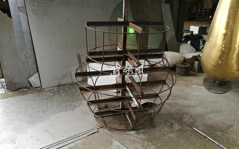 不锈钢花钵模型骨架