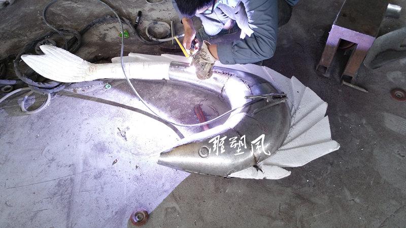 不锈钢鱼焊接