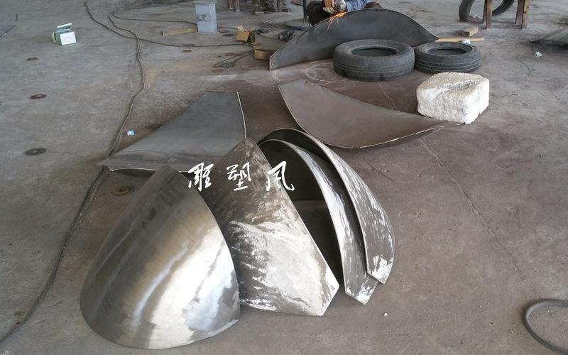 不锈钢打造莲花片状