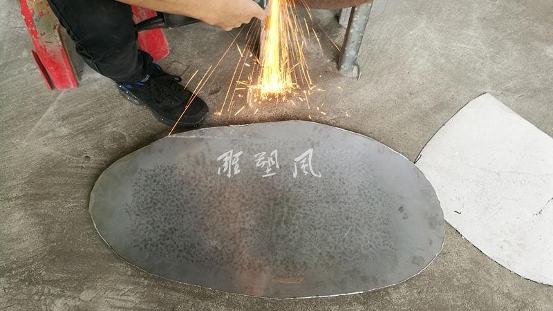 不锈钢鹅卵石开料