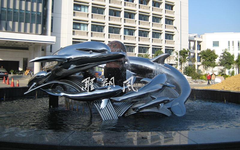 不锈钢海豚调试