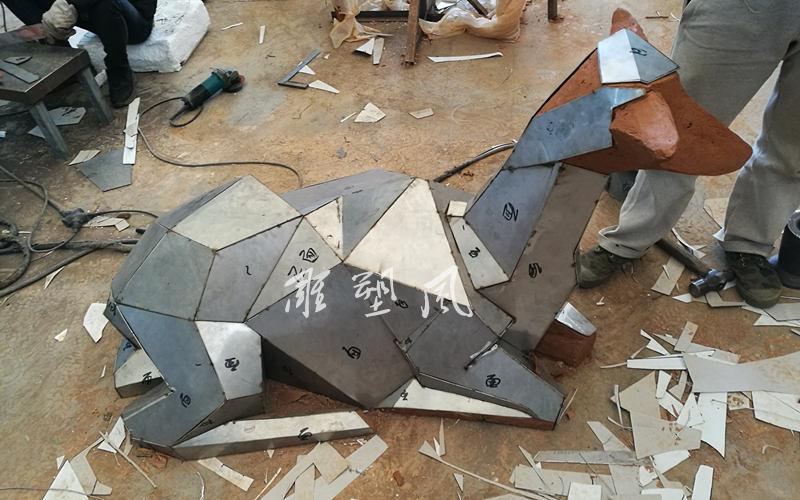 不锈钢鹿焊接