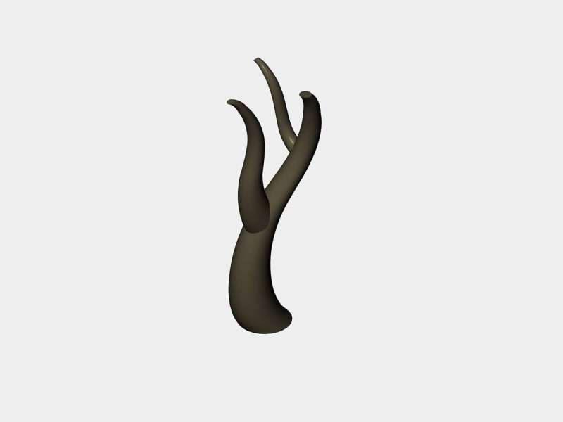 不锈钢树枝设计图