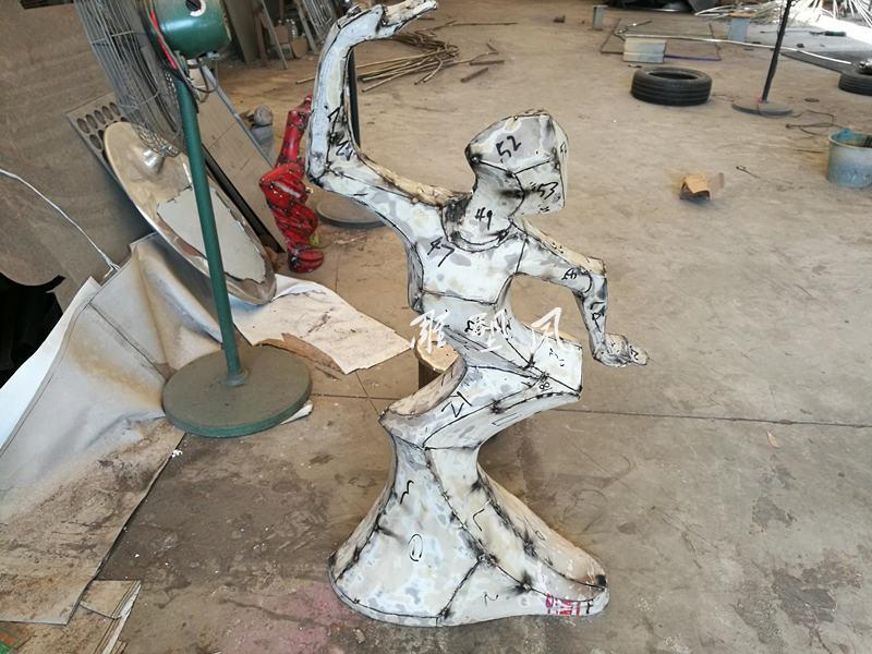 鹤舞不锈钢摆件模具