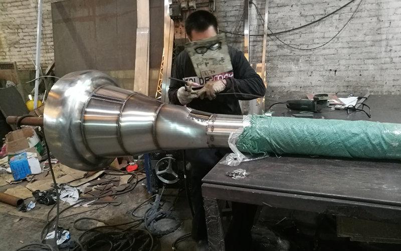 不锈钢避雷针骨架焊接