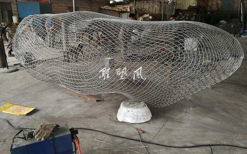 云朵不锈钢雕塑制作工艺流程