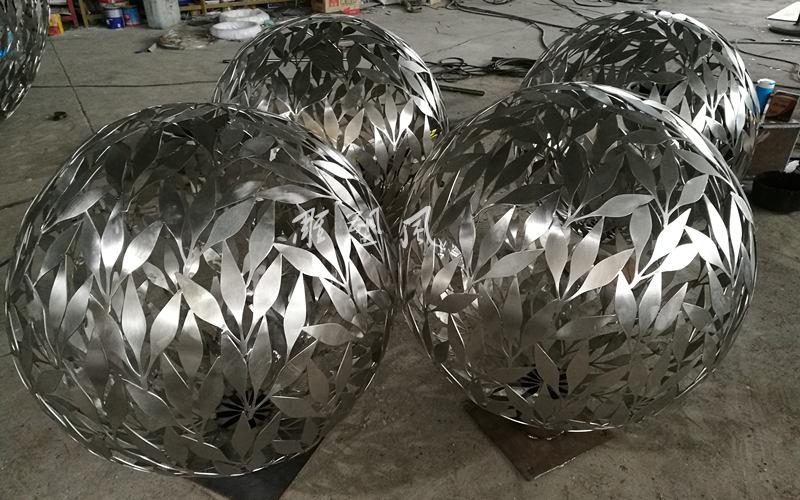 不锈钢镂空球制作工艺流程