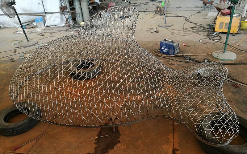 不锈钢鱼编织