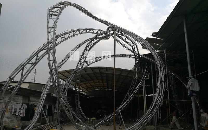 大型广场雕塑骨架制作
