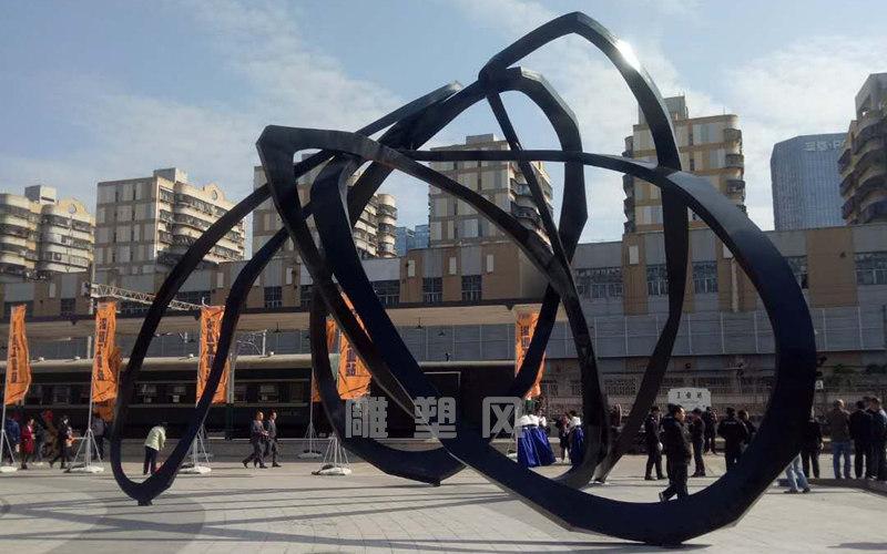 大型广场雕塑效果图