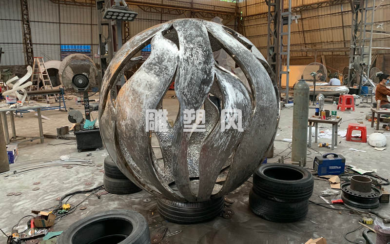 不锈钢圆球打磨抛光