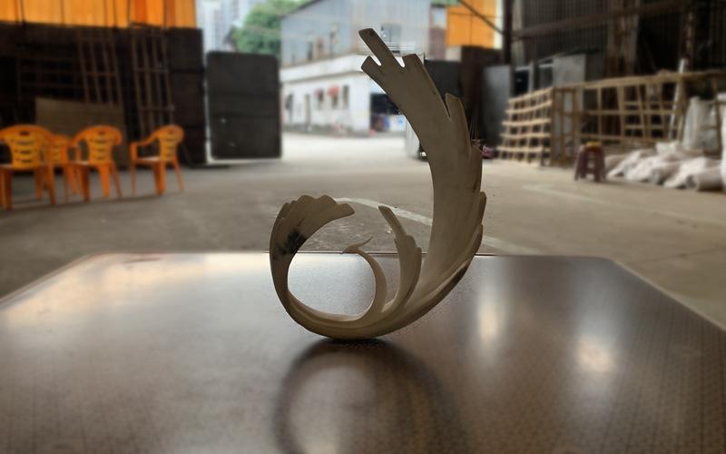 不锈钢凤凰雕塑树脂小稿