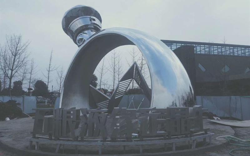 大型镜面不锈钢商业艺术雕塑